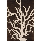 Tufted Pile Coral Rug
