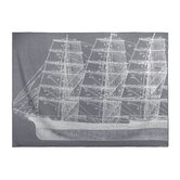 Maritime Throw Blanket in Charcoal