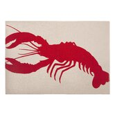 Lobster Placemat in Lava