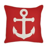 Outdoor Anchor Pillow in Lava