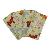 Barnyard Buffet Napkin (Set of 4)