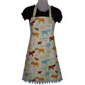 Barnyard Buffet Women's Bib Style Apron