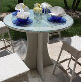Grenada Patio Glass Pub Table
