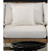 Seagrass Armless Sectional Chair with Cushions