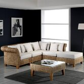 Seagrass 5 Piece Deep Seating Group