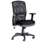 Dakota Mesh Task Chair in Black