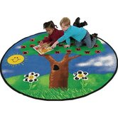 Educational Alpha Tree Kids Rug