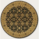 Royal Kashimar All Over Vase Black Rug