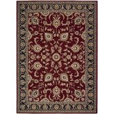 Arabesque Coventry Firebrick Red Rug