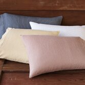Mini Stripe Cotton and Linen Pillowcase (Set of 2)