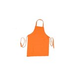 "MUincotton 35"" Full Apron in Orange"