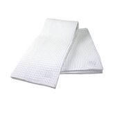 MUmodern 24&quot; Waffle Dishtowel in White (Set of 2)