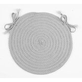 Monroe Round Braided Chair Pad
