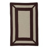 Simply Home Frame It Chocolate Rug