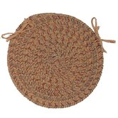 Adams Round Braided Chair Pad