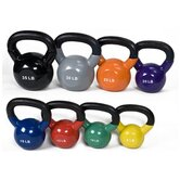8-35 lbs Premium Vinyl Kettlebell Set