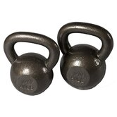 40-50 lbs Cast Iron Kettlebell Set