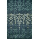Habitat Blue Ikat Rug