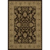 Royal Floral Brown Rug
