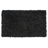 Shaggy Raggy Black Kids Rug