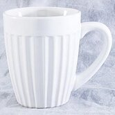 DO NOT SET LIVE!Ribbed Mugs in White - Set of Four
