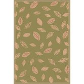 Tropez Green Leaf Rug