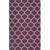 Frontier Raspberry Wine/Gray Rug