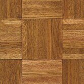 Urethane Parquet 12&quot; x 12&quot; x 7/16&quot; Solid Oak in Honey