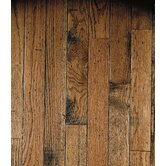"Ellington™ Plank 3-1/4"" Solid Red / White Oak in Honey"