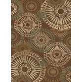 Encore Rondelle Medium Brown Rug