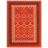 Anatolia Red/Medium Tabasco Tribal Rug