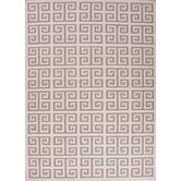 Urban Bungalow Ivory/White Geometric Rug
