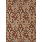 Urban Bungalow Beige/Brown Tribal Rug