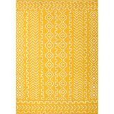 Urban Bungalow Yellow/Gold Tribal Rug