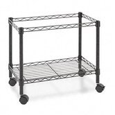 Single-Tier 21&quot; H x 24&quot; W Rolling File Cart