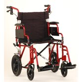 Nova Comet 352 Transport Wheelchair W/Removable Desk Arms