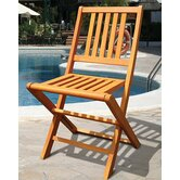 Marcana Folding Dining Side Chair (Set of 2)