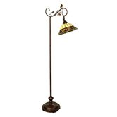 Crystal Jewel 1 Light Floor/Torchiere Lamp