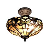Cabrini 2 Light Semi-Flush Mount