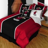Miami Heat Sideline Comforter in Black