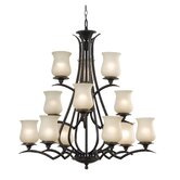 Bienville 12 Light Chandelier