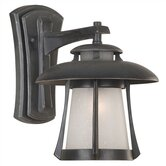 Laguna  Outdoor Wall Lantern in Ebony Pearl