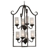 Leafston 8 Light Chandelier