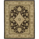 Nourison Tan Black Rug