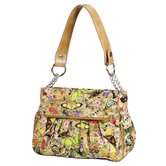 Botanical Double Flap Bag