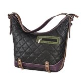 Quilted Hobo in Black