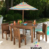 Kids' 6 Piece Table and Chair Set