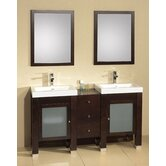 "Contempo Pomona 60"" Bathroom Vanity"