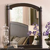 Waterford Place Mirror in Topaz Cherry