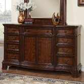 Mill Creek 9 Drawer Door Dresser